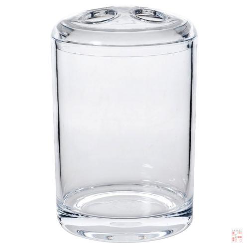 Porta Cepillo De Dientes De Acrílico Transparente