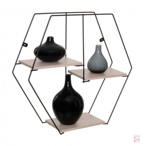 Repisa Estante Hexagonal Metaltru