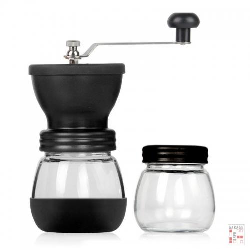 Molinillo de Café Manual Regulable + Frasco de obsequio