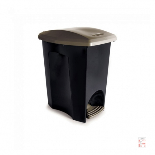 Tarro De Residuos Con Pedal 15 Litros Plástico Plasutil