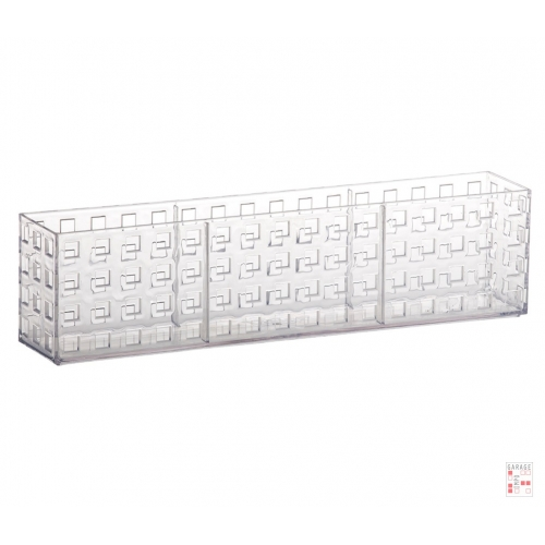 Caja Bandeja Apilable Cristal 32 x 6 x 8 cm