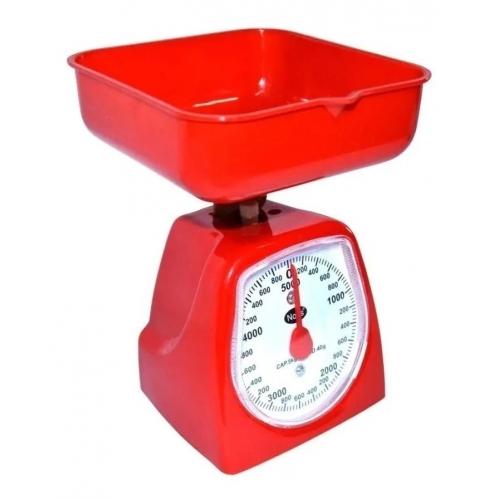 Balanza de cocina plástica hasta 5 kg.