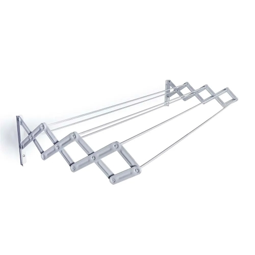 Tendedero Plegable De Aluminio Para Pared 1m