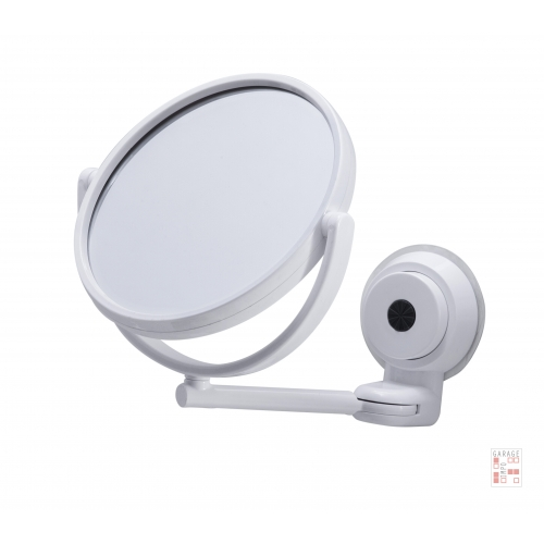Espejo Con Ventosa De Ducha Baño Maquillaje Enmarcado