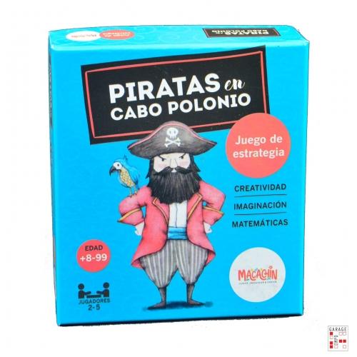 Juego Mesa Didactico Infantil Familiar Piratas Cabo Polonio