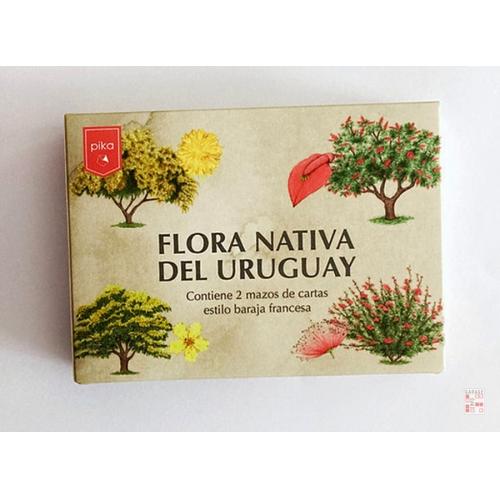 Juego Cartas Infantil Flora Nativa Del Uruguay