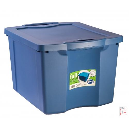 Caja Organizadora de 75 Litros Azul FullBox