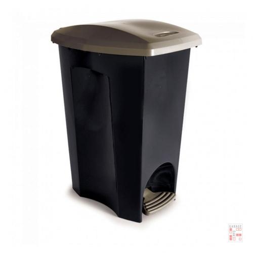 Tarro De Residuos Con Pedal 30 Litros 3 Divisiones Plástico Plasutil