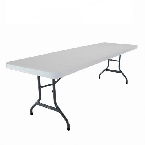 Mesa rectangular plegable PVC 1.52 mts.