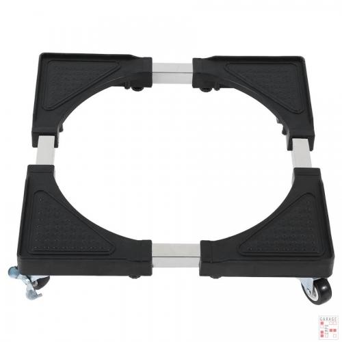 Base con ruedas para traslado de electrodomésticos.