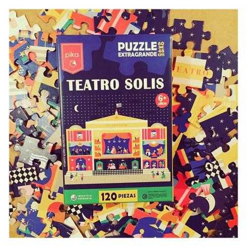 Puzzle Didáctico Infantil de encastre Teatro Solís