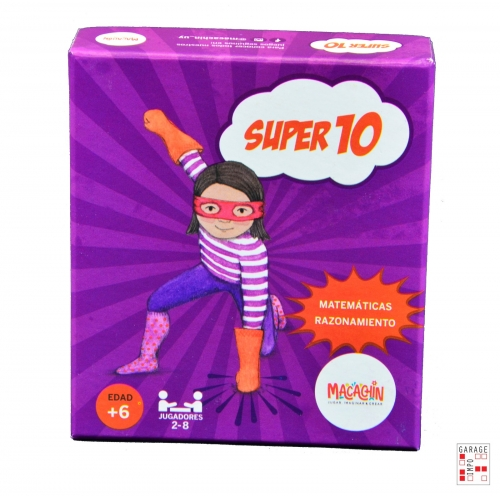 Juego Mesa Didactico Infantil Familiar Creativo Super 10