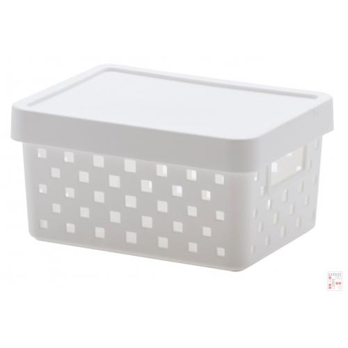 Caja Organizadora Calada Chica Blanca Quadratta