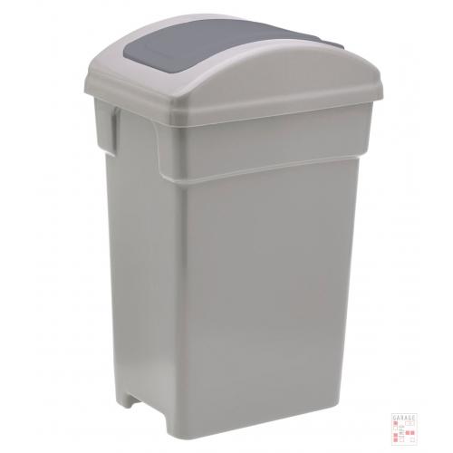 Tarro De Residuos 10 Litros Tapa Vaiven