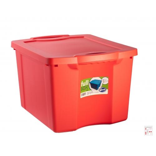 Caja Organizadora de 75 Litros Roja FullBox