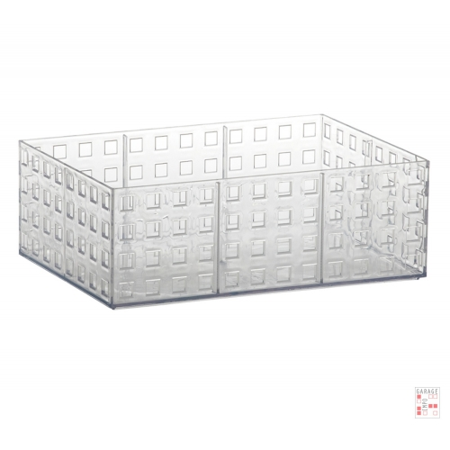Caja Apilable Mediana Cristal