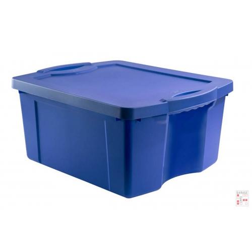 Caja Organizadora De 55 Litros Azul FullBox