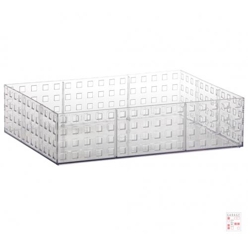 Caja Apilable Grande Cristal