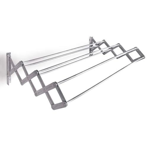 Tendedero Plegable De Aluminio Para Pared 80 cm