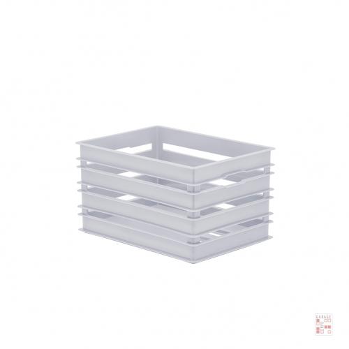 Cesto Organizador Alto 24 Cm Plástico
